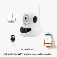 Indoor wireless p2p home security wifi two way audio ip camera