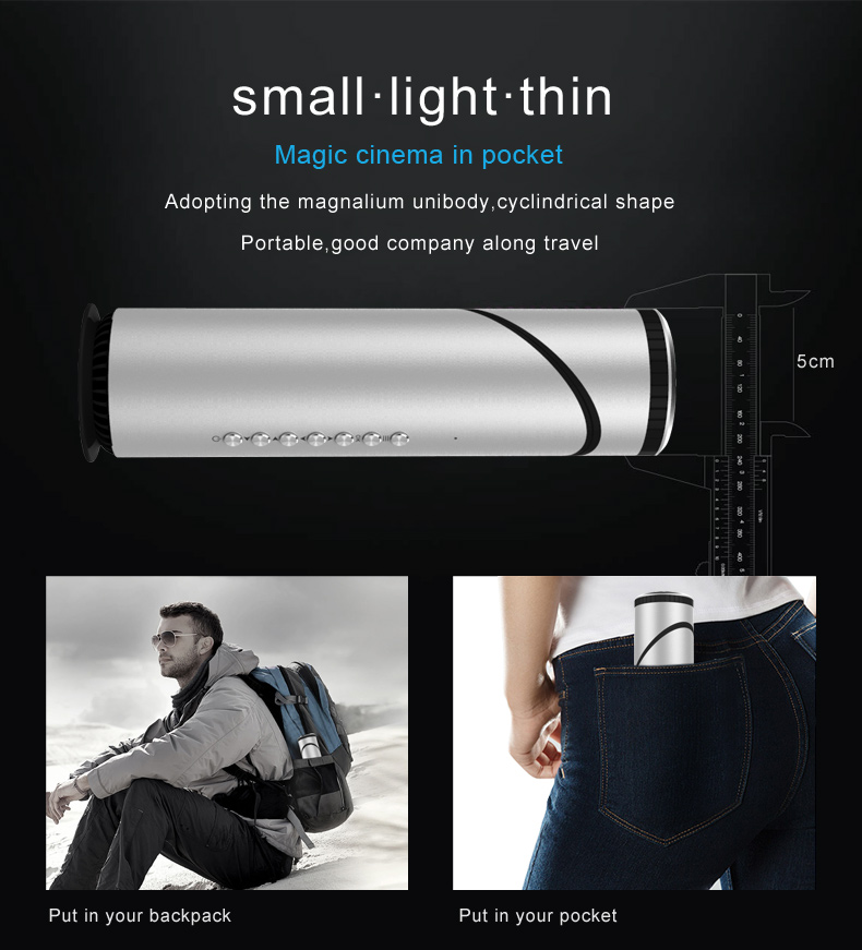 Latest Theater Android Beam Portable Mobile Phone Pocket Hid Led Home Mini Projector