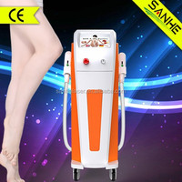 facial photo epilator for salon hair removal machine with CE / ipl alex laser shr hair removal