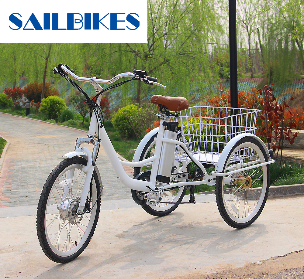 CE Certification High Quality Electric Adult Tricycle