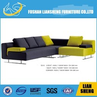 Simple wooden sofa set designs artistic leather sofa