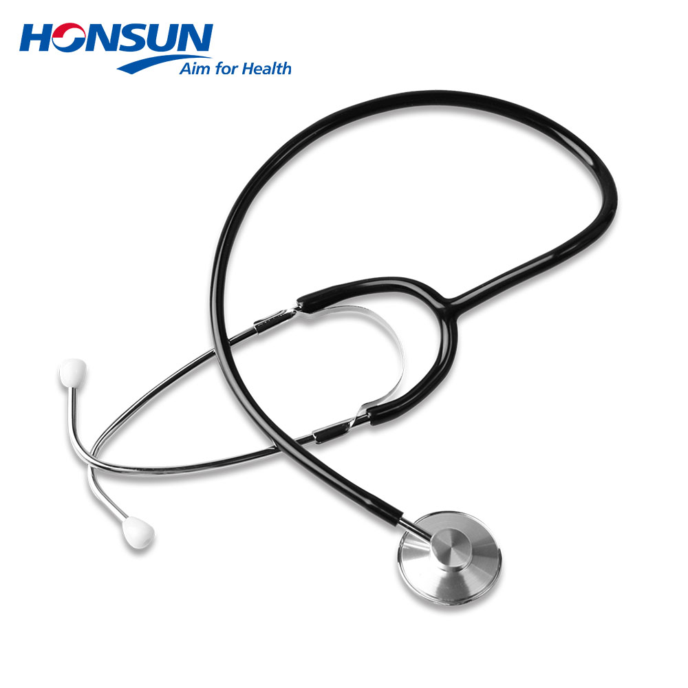 HONSUN HS-30A Single Head Stethoscope Wholesale for Adult with Wholesale Stethoscope ID Tags
