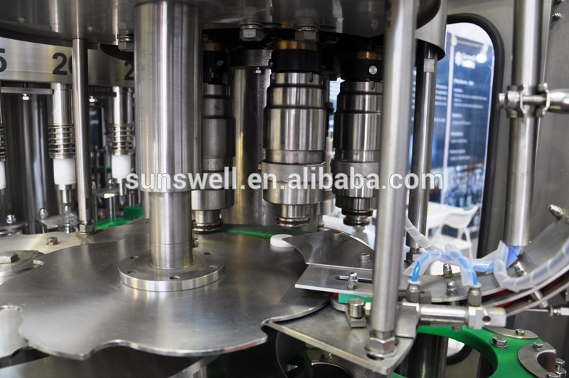 Automatic aseptic fresh fruit juice filling machine/juice bottling plant