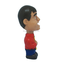 Soccer player action figure, messi action figure, 3d cartoon