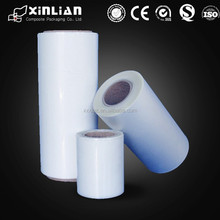wholesale clear OPP plastic film rolls, laminated plastic roll film, plastic film roll