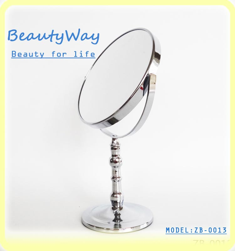 2016 Hot Sales New style two way cosmetic dressing table mirror portable salon mirror China factory Wholesale Cheap Price High Q