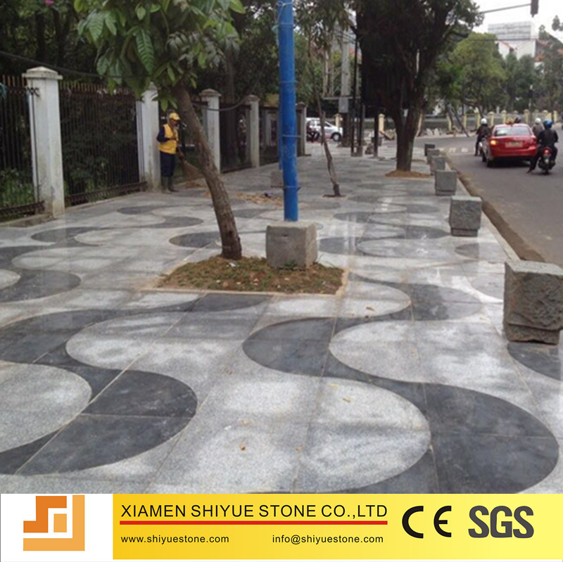 Black Basalt Stone G684 Tile For Driveway/Pathway Paver