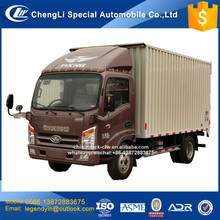 CLW export vehicle model t king 6 wheels diesel light van goods truck for sale plateau areas