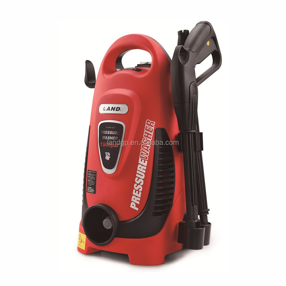 130Bar 1900PSI Portable Electric High Pressure Washer