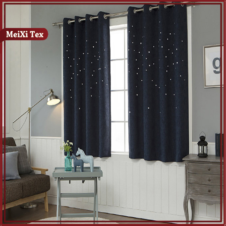 The newest design tiffany blue elegant drapes morocco black stage expensive curtains for living room