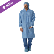 non-woven disposable medical consumables supplies lab coats