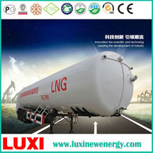Cryogenic liguified gas tank 60/1.2 LNG trailer