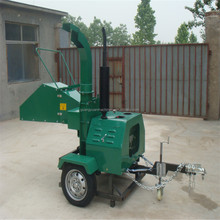 Diesel engine chipper wood chipper made in china