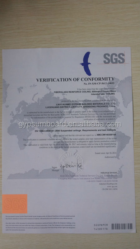 CE certificate New decorate material modern acoustic ceiling