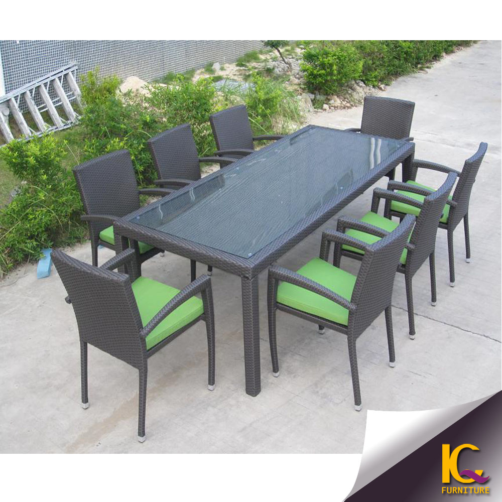 Hot sale garden dining table and chairs set cheap modern for Cheap dinner tables