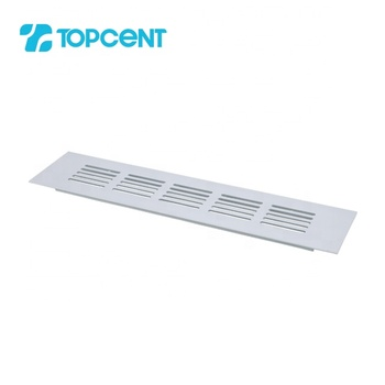 TOPCENT aluminum kitchen cabinet door return air grille vent ventilation hole for cabinet doors