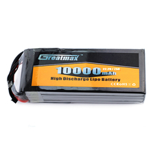 3.7V 7.4V 11.1V 14.8V Available 6S 10000mAh 25C 22.2V Custom Lipo Battery for RC Helicopter UAV