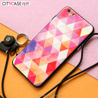 city&case colorful phone case cover waterproof for iPhone 6 6s