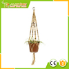 Wholesale 2016 Colorful Hanging Basket Plant Hanger Holders Large for Indoor and Outdoor Jute Rope 48 Inch