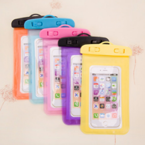 2016 Chinese Factory Price New Product Transparent Waterproof Pouch/PVC Waterproof Bag for Iphone 6
