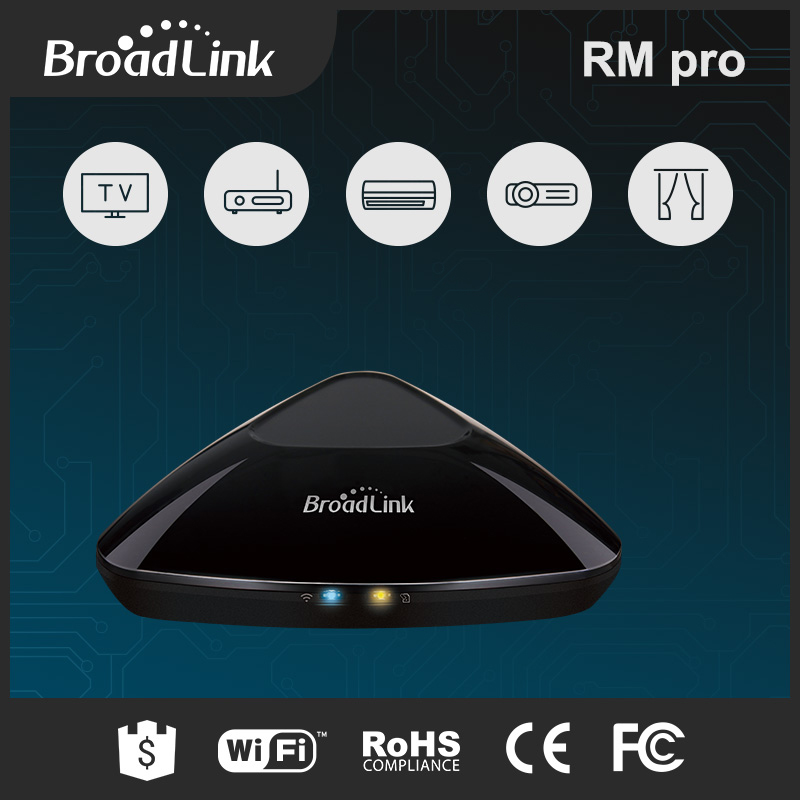 Broadlink RM Pro wireless smart home automation module 433mhz via mobile phone android