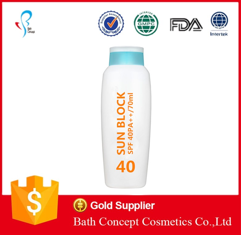 OEM/ODM Supply Type Adults Age Group sunscreen lotion