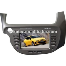 "7"" Car DVD GPS player for Honda Fit/ Jazz with 8CD,BT,IPOD,TV and IPHONE menu"