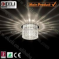 Crystal downlight g5.3 g4 g9 crystal corridor halogen downlight ceiling