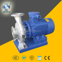 ISW CI SS 2 inch inline water booster pump horizontal single stage centrifugal pump