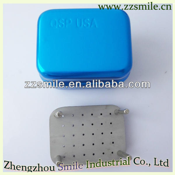 dental bur box/30 holes dental endo bur box organizer