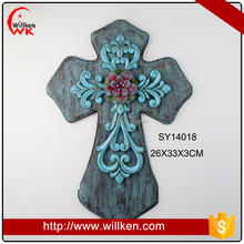 Western resin crucifix wall decor church wall decorations