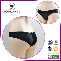 seamless bow black sex OEM service latest design hot sexi girl wear bra panty set