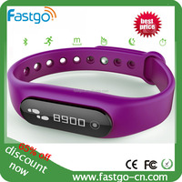 Fitness smart wristband pedometer/ fitbit bluetooth bracelet silicone wristband pedometer