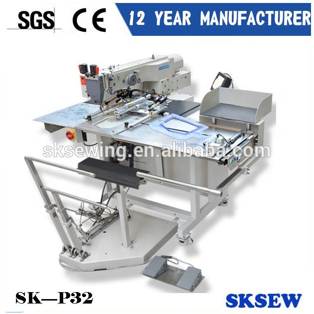 Dongguan Sokee Automatic pocket attaching setter industrial sewing machine