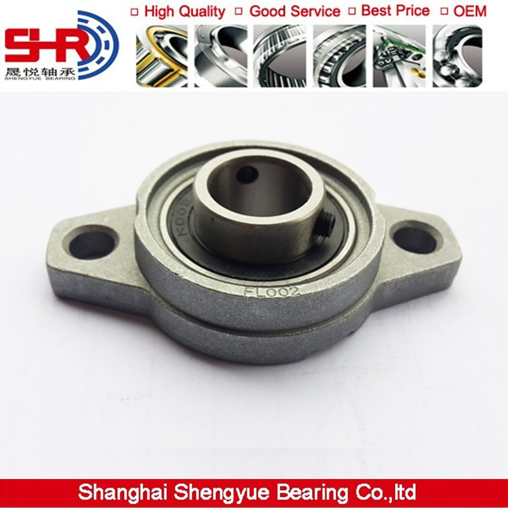 Pillow block bearing 12mm FL001 KFL001 flange Zinc Alloy bearing units