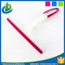 Plastic window squeegee rubber