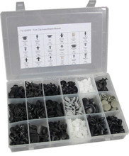 408pc Trim Clip Assortment Auto Body Fasteners