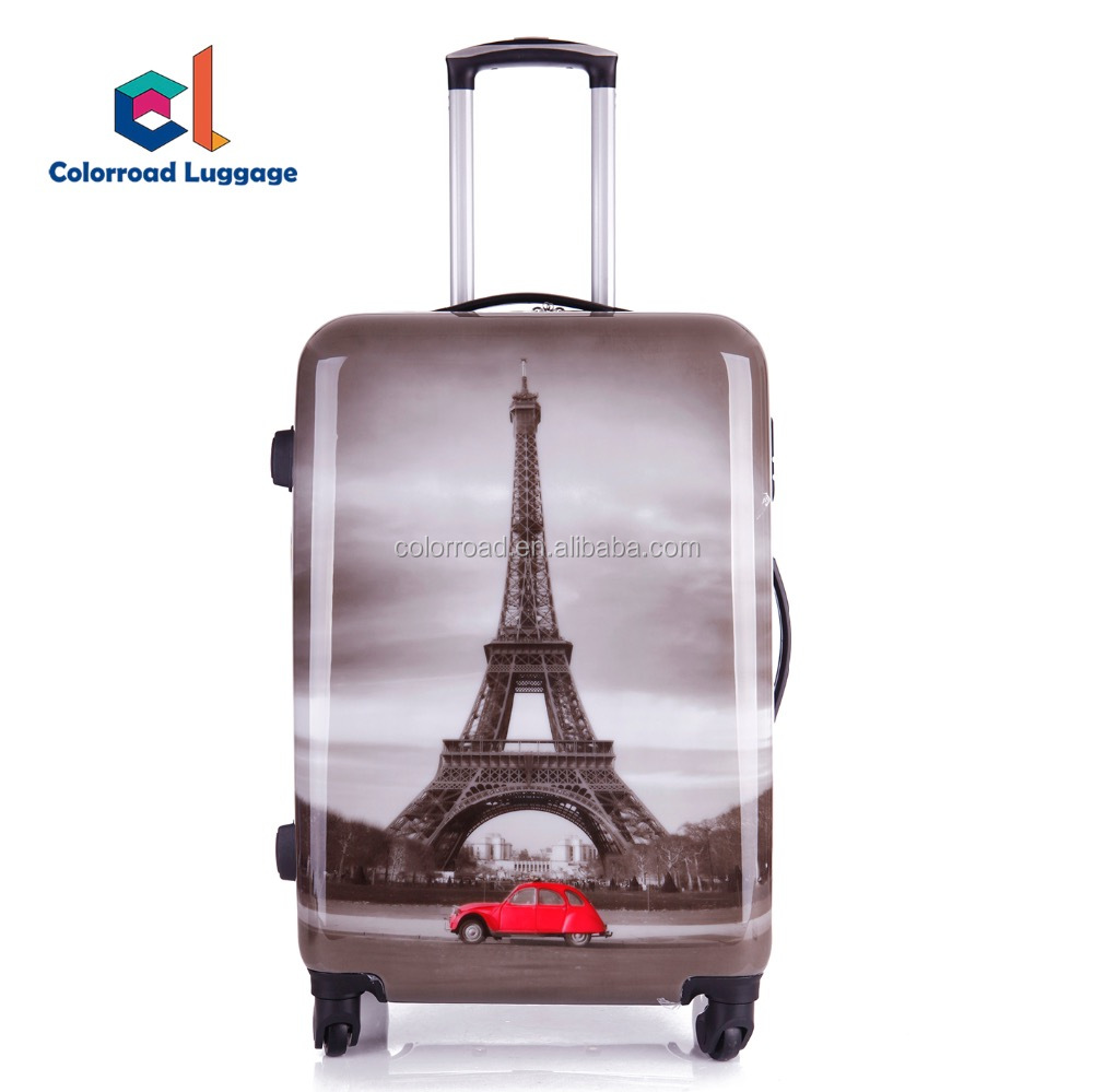 2017 Cartoon Travel Bag 20 inch 24 inch 28 inch Travel Trolley Luggage with Cheap Price High Quality Beauty Case Trolley