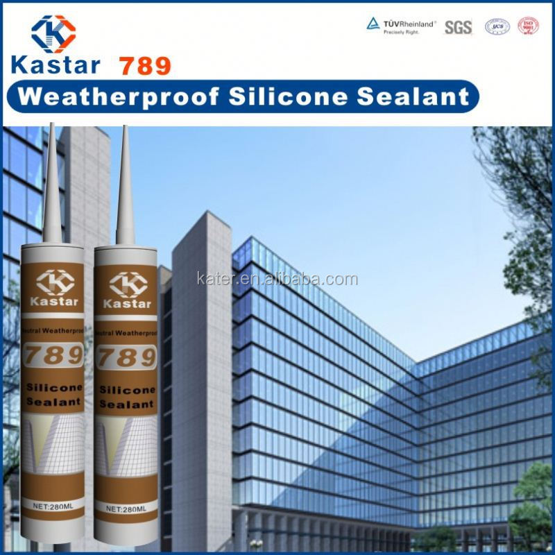 Glass roof silicone sealant
