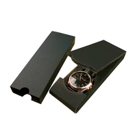 Factory custom single cardboard gift watch packaging wrist watch box with logo printing