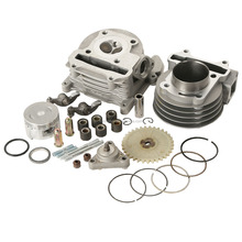 XMT121607 China factory 100cc Scooter 50mm Cylinder Engine Big Bore Kit For motorcycle parts GY6 GY 6 139QMB 1P39QMB