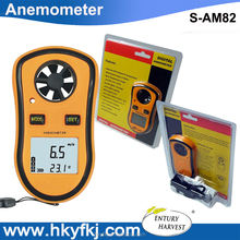 Wind measuring instrument vane anemometer thermo anemometer portable