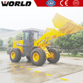 W156 3m3 bucket mini wheel loader used for construction