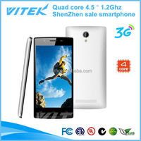 4.5 inch Android 4.4 quad core 1.2Ghz ultra slim android smart phone
