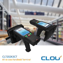 High speed Quad core CPU industrial handheld android for financial escort