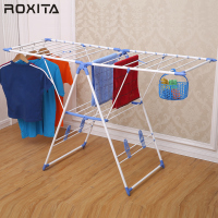 RX-CR109PS Top quality two tier laundry folding foldable retractable clothes hanger