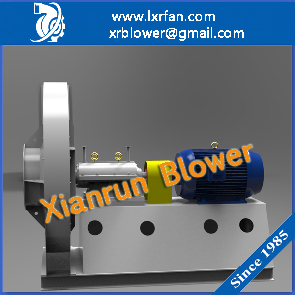 AC High Pressure Fans Blowers For Air Conveying/Smoke Induce/Material Handling