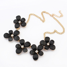 Fake brand Nice simple charms new age view gifts and accessories jewelry black resin beads necklaces PN2682