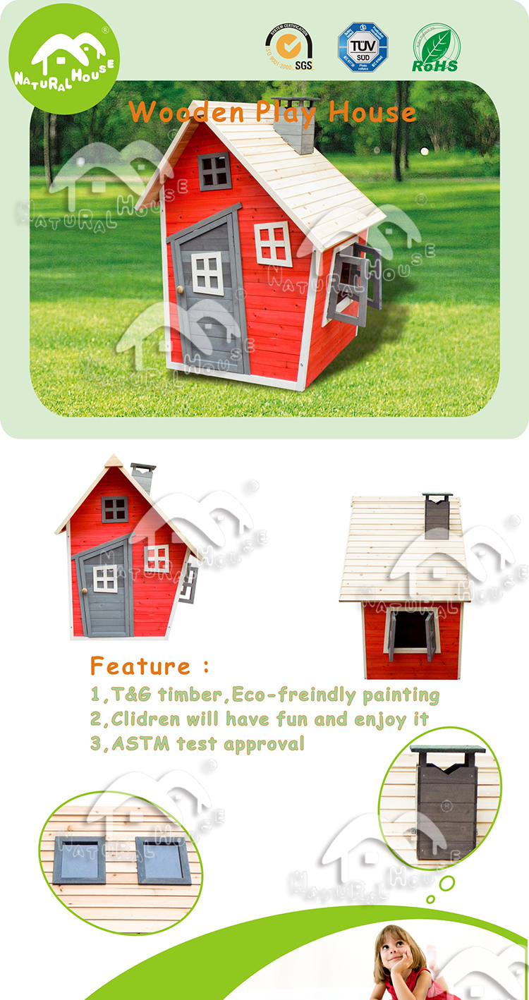 For sales Best selling wooden Kids play house