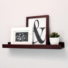 120*10*3.5 MDF Decoration wooden folding wall shelf
